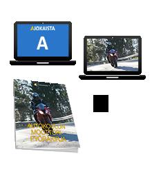 Moottoripyöräkortin teoriapaketti