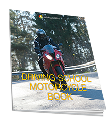 Driving School Motorcycle Book